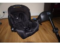Joie car seat + ISO Fix base - Great Condition