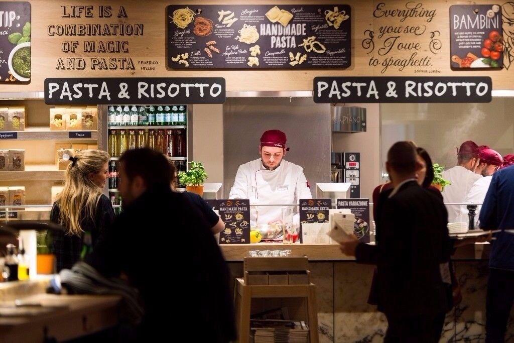 NEW! Vapiano Restaurant Edinburgh - CHEF'S