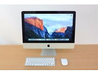 Apple iMac with Retina 4K display With Apple care protection plan certificate expires 15/01/2019