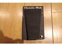 Morley CLW 'Classic Wah' Wah Wah Pedal