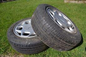 "14"" Ford alloy wheels"