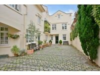 PARK VILLAGE MEWS, NW1: 4 Double bedroom house, off street parking, over three floors, AVAILABLE NOW