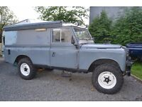 Land rover Series 109 classic 4x4 not defender hilux navara