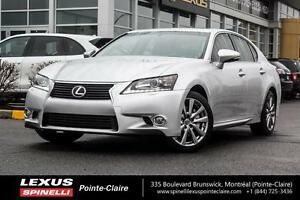 2013 Lexus GS 350 AWD, LUXURY PKG, NAV, CAM, LEATHER, LOADED ONE