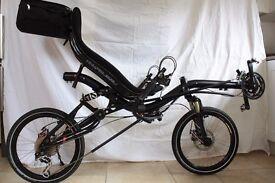 Azub Mini recument bike - high spec and ridden less than 50 miles