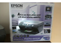 EPSON ALL IN ONE PRINTER & SCANNER RX520