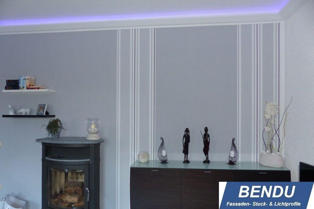 sparpaket bendu lichtvouten f r indirekte led beleuchtung stuckleiste hartschaum eur 240 00. Black Bedroom Furniture Sets. Home Design Ideas