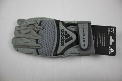 NEW adidas - Black/Gray Gloves (Multiple Sizes)