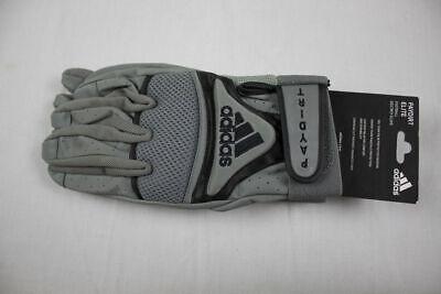 NEW adidas - Black/Gray Gloves (Multiple Sizes)