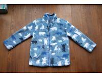 Hatley Boy's Fleece Jacket Jumper 2-3 years