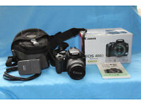 canon eos 400d camera.with 18-55 lens