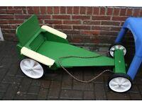 Handmade Wooden Go Kart