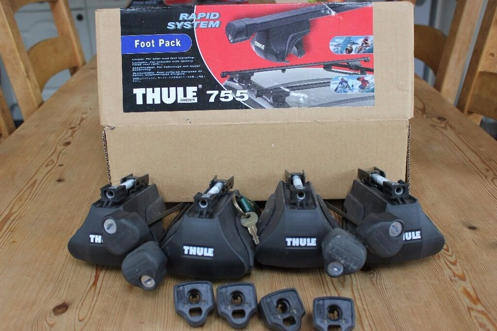 Thule 755 Now 757 Foot Pack System For Thule Roof Bars