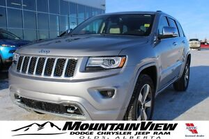 2016 Jeep Grand Cherokee Overland ECO DIESEL! ONLY 20 KM!