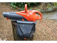 Flymo Leaf-blower and collector