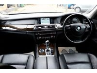 BMW 730D SE AUTOMATIC 4 DOOR SALOON FSH HPI CLEAR 2 KEYS SHOWROOM CONDITION