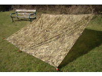 New (in packet) - Current British Army Issue MTP BASHA / Shelter / Tarp