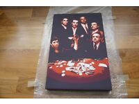 Scarface, The Godfather and Goodfella canvas print (include measurements)