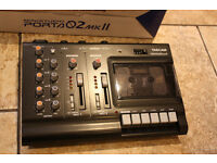 Tascam Porta 02 mkII ministudio 4 track recorder ABSOLUTELY MINT CONDITION