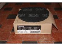 5 Scotch-brite Black Floor Pads, 3 Floor Buffer Pads and 1 Polishing Pad