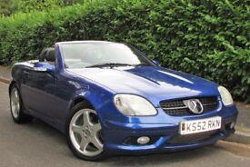 Mercedes-Benz SLK 3.2 SLK320 2dr F/S/H,Auto,Leather,Warranty
