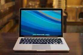 13.3' Macbook Pro Retina i7 2.8Ghz 8GB Ram 500GB SSD Logic Pro X Ableton Massive Omnisphere Trillian
