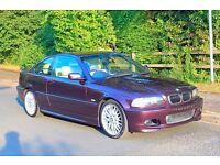 VERY RARE BMW 330Ci Sport Coupe Individual Mora Metallic, Champagne nappa leather, Satnav, Xenons