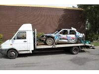 Aluminium Recovery Truck Body - 17ft long beavertail (Professionally Built) lightweight (BODY ONLY)