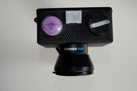 Spinner 360° - 360-degree panoramic shots on 35mm film with the pull of a cord!
