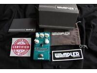 """Wampler USA Ethereal - Reverb and Delay Boxed MINT """"New Other"""""""