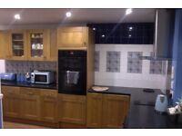 Howden's Solid Wood Tewkesbury Light Oak Kitchen