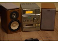 SONY75W CD/RADIO/CASSETTE/AUXIN PLAYIPOD PHONEMUSIC CANSEE WORKING