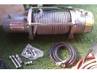 EW 8500 Electric winch for 12000 LB £250 ONO