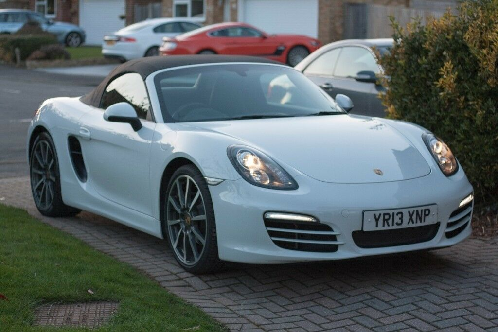 Porsche Boxster 981 - 265BHP, 2 7L, White, Convertible, | in Sevenoaks,  Kent | Gumtree
