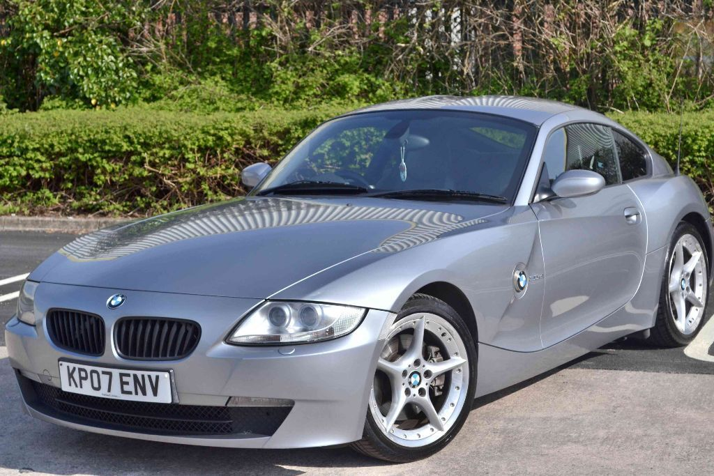 2007 bmw z4 coupe 3 0 si sport silver grey schwartz. Black Bedroom Furniture Sets. Home Design Ideas