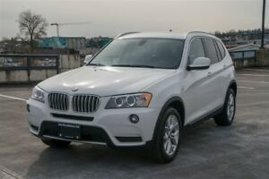 2013 BMW X3 Clean, Loaded  Coquitlam Call Direct 604-298-6161