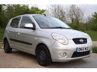 2011 KIA PICANTO 1.1 5DR LOW MILEAGE, AUTOMATIC, PETROL, LONG MOT, PX WELCOME, 3 MONTHS WARRANTY
