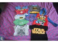 18-24 months superhero and star wars bundle.