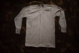 Italian Military Issue Thermal Top / Baselayer - size Medium