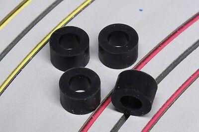 Car Parts - HO Slot Car Parts - 2 Pairs of Super Tires Slip-Ons .442 OD - MEGA-G & Mega-G+