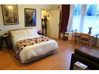 beautiful studio flat in a period conversion in Highgate