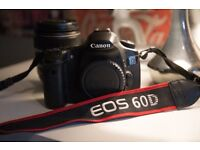 CANON EOS 60D CAMERA BODY WITH EF-S 17-85MM IS USM LENS + LOWEPRO BAG