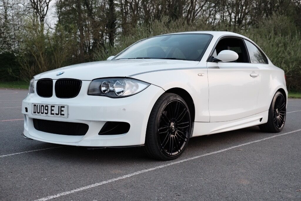 bmw 120d coupe msport factory optional extra 39 s carbon fibre kit in leicester. Black Bedroom Furniture Sets. Home Design Ideas