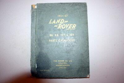 EARLY LAND ROVER PARTS CATALOGUE ULTRA RARE SERIES 1 DEALERSHIP MANUAL