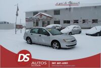 2003 SATURN BERLINE ION AUTOMATIQUE **BAS MILLAGE CERTIFIÉ***