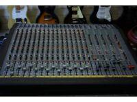 studio master p-7 16 channel mixing desk
