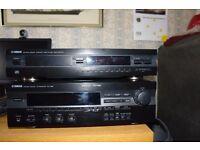 yamaha national sound av receiver rx v395 +compact disc player