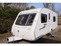 Swift Fairway 550 2009 4 Berth Fixed Bed Caravan + Motor Movers