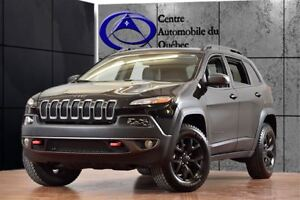 2017 Jeep Cherokee Trailhawk *FULL* V6 CUIR TOIT-PANO NAV HITCH