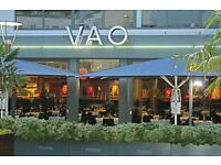 Experienced Waiting Staff Required, Full & Part-time Positions